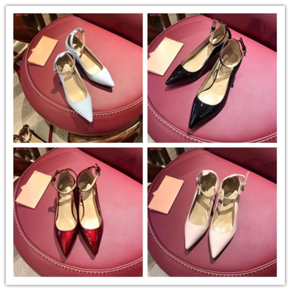 Marke Freizeit Business Damenschuhe Hochwertige importierte Rindsleder Vamp das Schaffell Futter Damen Casual Business Kleid Schuhe