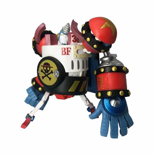 POP One Piece Robot Franky Heykeli Şekil Action Figure Oyuncak Modeli Dekorasyon Hasır Şapka Korsanlar Oyuncaklar
