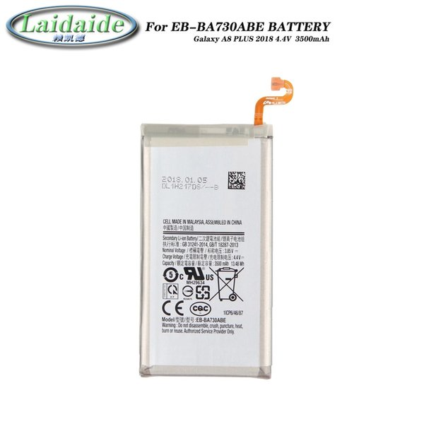 EB-BA730ABE Battery li-ion for Samsung Galaxy A8 PLUS 2018 A730 A730F batteries Mobile phone built-in replacement battery
