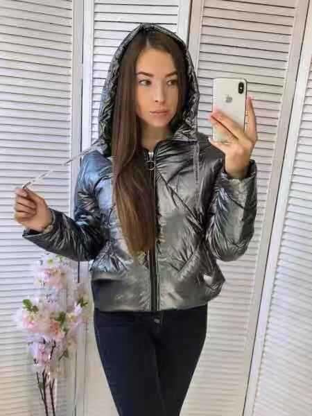 jaqueta de inverno cinzento