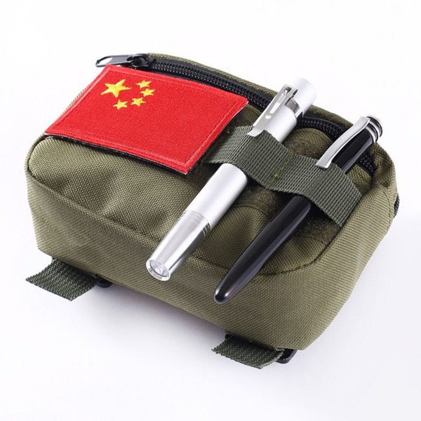 Running Bag Tactical Pocket Organizer Waterproof EDC Pouch Portable Hunting Pack Tool Bag Small Army Sundries Pouch