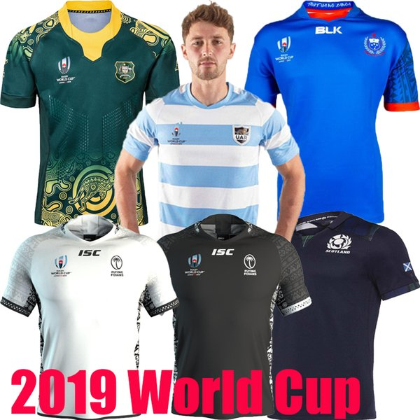 best selling 2019 World Cup Australia Fiji Argentina Samoa Home rugby Jerseys UAR national team Rugby League shirt jersey shirts s-5xl