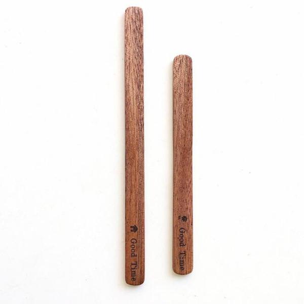 Акация деревянный кофе перемешать палочки мешалки деревянный чай Напиток смешивания перемешивания стержень бесплатно индивидуальные логотип QW9616