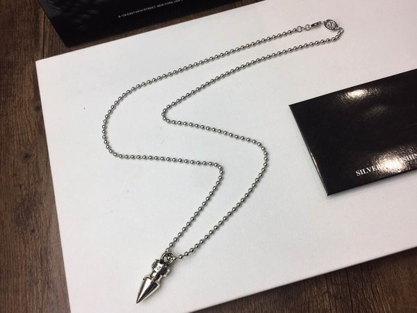 fashion brand ch designer bullet necklace sweater chain for lady design man and women party wedding lovers gift luxury hip hop jewelry
