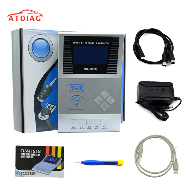 Hot Wireless RF Remote Controller Digital Counter Remote Copier/Master H618,Key Programmer,Frequency Tester
