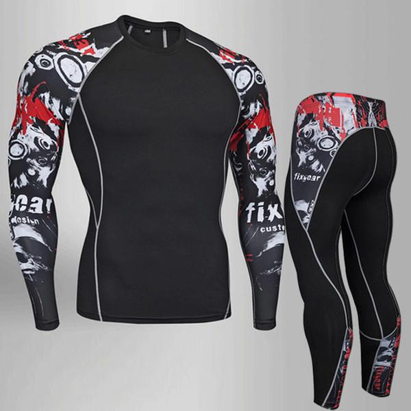 Superman Fitness Bodybuilding Sportswear Compression Shirt Men Rashgarda Rashguard 3d Superman T Shirt Crossfit Tops For Male T-shirts