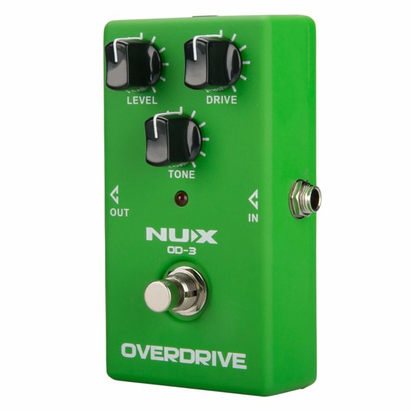 NUX OD-3 Overdrive Electric Guitar Effect Pedal True Bypass Natural Overdrive Sound Guitar Pedal Accessories Musical Instruments