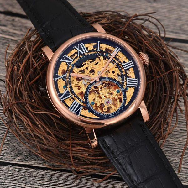 maschile 2019 Sport Business lusso Hot orologio automatico impermeabile orologio meccanico di fascia alta sincronizzazione orologio da uomo