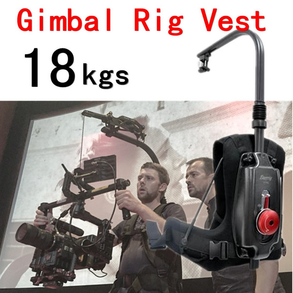 Freeshipping Like RIG 8-18kg Video and Film Camera or DJI Ronin 3 Axis Dslr Gimbal Rig Stabilizer Stabilization Easy Rig Steadicam Vest