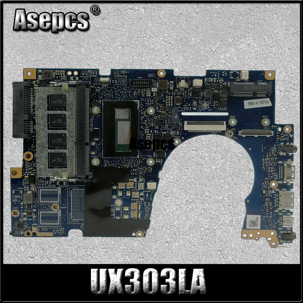 Asepcs UX303LA Laptop motherboard for ASUS UX303LA UX303LB UX303LN UX303L UX303 Test original mainboard 4G RAM I7-4510U