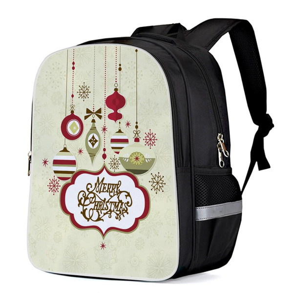 Merry Christams Day Ceremony Fashion Backpacks Notebook Schoolbag Laptop Backpacks Casual Daypacks School Bags Satchels Satchel