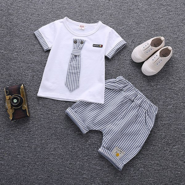 Children Clothing Set Baby Boy Clothes Summer Cartoon 2019 New Kids Cotton Cute Sets Baby Boy Outfit Costumes Baby Clothing Set