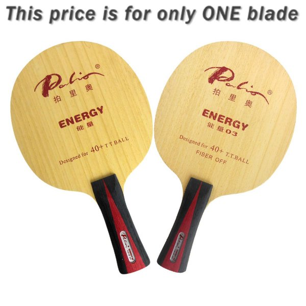 Palio ENERGY03 ENERGY 03 ENERGY-03 5Wood+4Fiber Table Tennis Blade for PingPong Racket