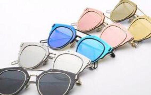 0f21165ea45c5 -COMPOSIT 1.0 Mirrored Coating Lenses Women Sunglasses CD Futuristic Christian  Designer Female Glasses Oculos De Sol Fashion