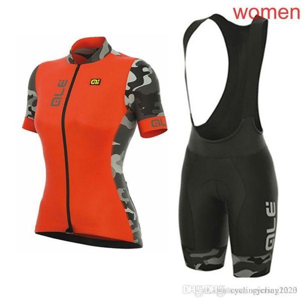 2019 YENI ALE bisiklet forması setleri 3D jel ped kadının pro takım yaz ropa ciclismo dağ bisikleti bisiklet giyim yarış bisikleti giymek 00052