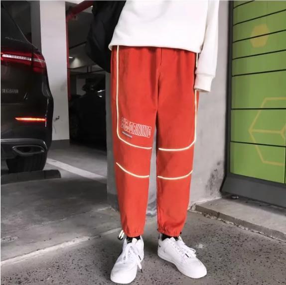 Orange rougeâtre