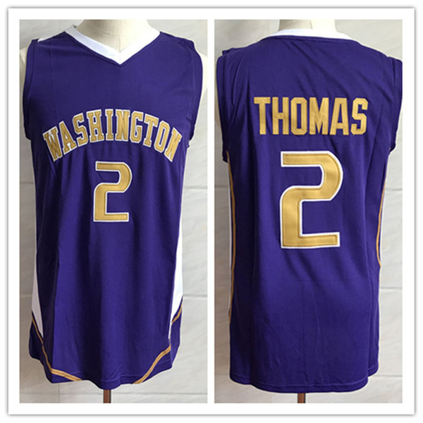 huge discount c3164 f8f1e 2018 #2 Isaiah Thomas Washington Huskies College Retro Classic Basketball  Jersey Mens Stitched Custom Number And Name Jerseys From Yufan5, $23.35 |  ...
