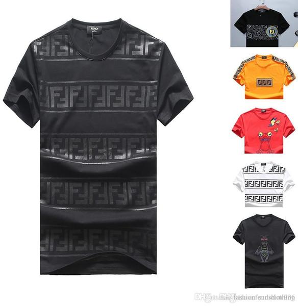 Top 14 stili FEN T-Shirt di alta qualità Uomo Donna T-shirt a manica corta T-shirt estiva in cotone T-shirt Camicia floreale Tr