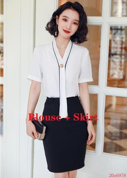 Blusa e Skirt Set