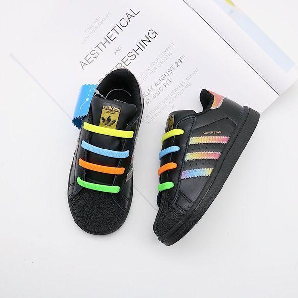 2019 Novos Sapatos de Corrida de Moda Infantil Ao Ar Livre Calçados Esportivos de Malha de Lona Esportiva de Couro Macio Baby Boy Menina Sneakers B-6