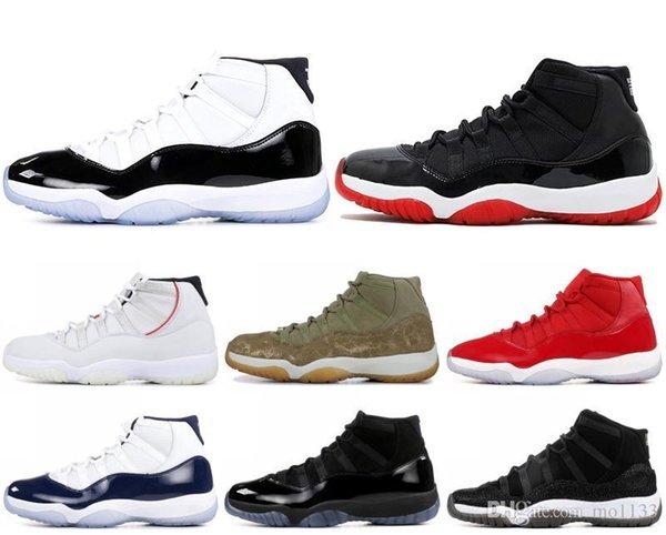 11 XI Herren Basketball Schuhe High Concord Erbin Platinum Tint Space Jam Low UNC 11 s Designer Turnschuhe Sportschuhe US 5.5-13