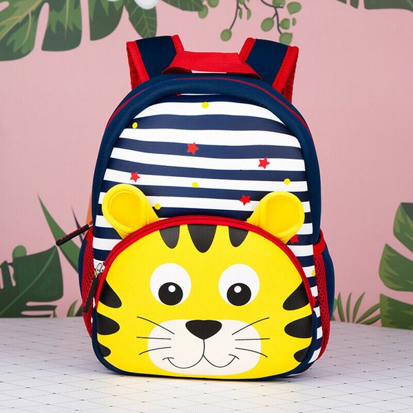 Zaino per bambini Zaino per scuola materna 2019 Nuova borsa a tracolla da viaggio leggera per animali da cartone animato per bambina