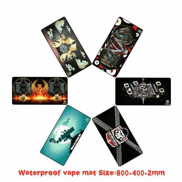 Alienwalker estera cigarrillo electrónico protector impermeable vstmat bricolaje cigarrillo electrónico bolsos de mano gdgdgd