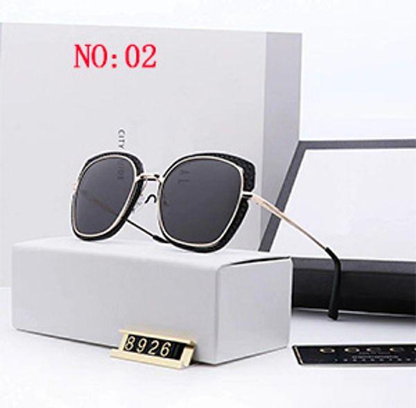Gucci GG8926 Pilot 2019 Солнцезащитные очки металлические Золотые коричневые градиентные солнцезащитные очки Дизайнерские солнцезащитные очки Новые с футляром