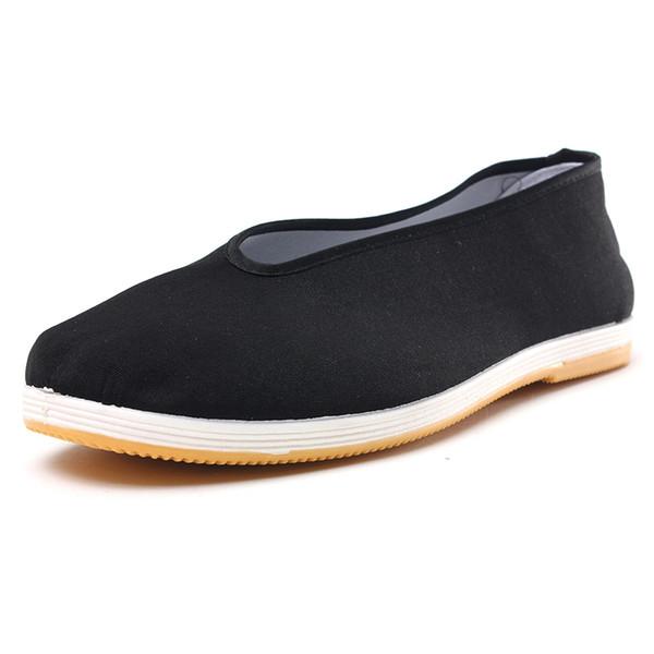Zapatos planos de hombre Mocasines casuales Kung Fu Art Ninja de algodón tradicional zapatos de suela suave Hombres Zapatillas deportivas Pisos deportivos