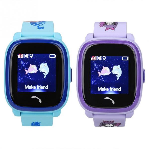Водонепроницаемый Дети SmartWatch 122in сенсорного экран AGPS GSM смарт-браслет Новый смарт-часы нового Smartwatches стиля
