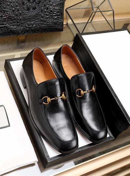 2019 uomini scarpe formali oxford luxurys scarpe da sera in pelle di marca grande formato 38-45 disegno Derby scarpe basse Monk casuali calzature maschili MMMME