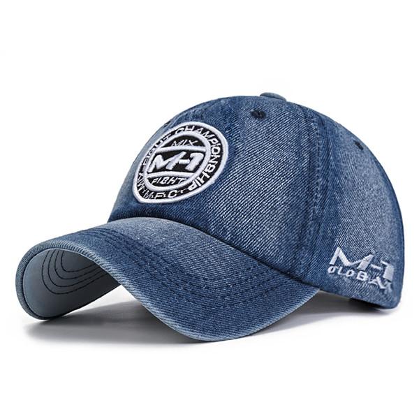 Group Jump High Quality Snapback Cap Demin Baseball Cap 5 Color Jean Embroidery Hat For Men Women Boy Girl Gorras Bone