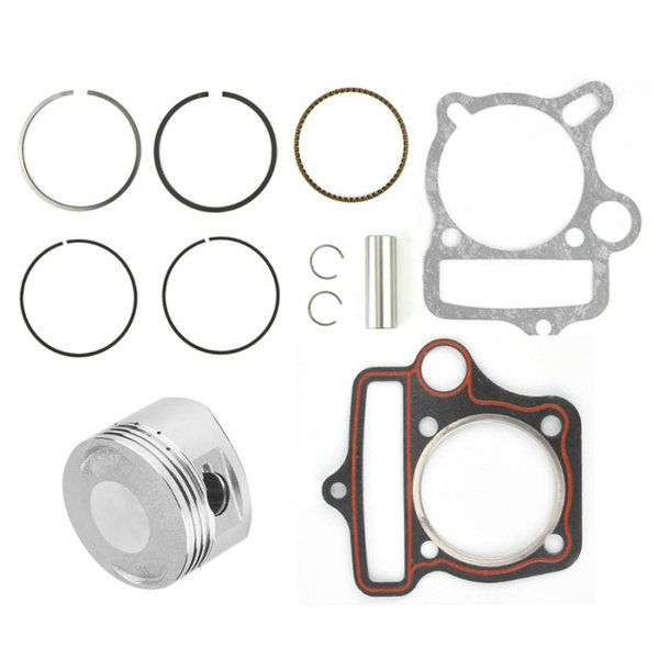 motorcycle parts 125cc 54mm Engine Parts Piston Set Rings Gaskets Fit for Loncin LiFan ATV Go Kart Bike motorcycle