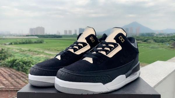 2019 Nuovo 3M Riflettente BIANCO NERO basso da basket scarpe da ginnastica sportive sneakers da outdoor di buona qualità formato USA 7-13 con scatola