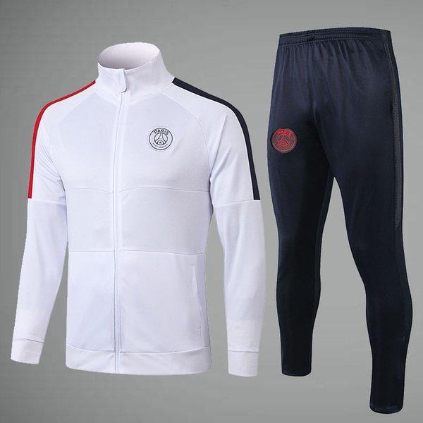 سروال PSG الأبيض مع الأسود