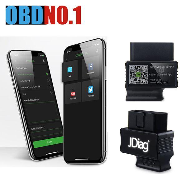 JDiag Faslink M2 Bluetooth 4.0 Bluedriver PK EasyDiag iDiag Blue Driver OBDII Car Diagnostic Tool iPhone Android Code Reader