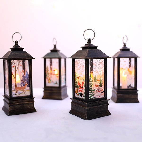 Christmas Decorations for Home Led Christmas Candle Tree Decorations LED Light Xmas Tree Ornaments Pendants