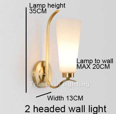 Luz de pared de 1 cabeza