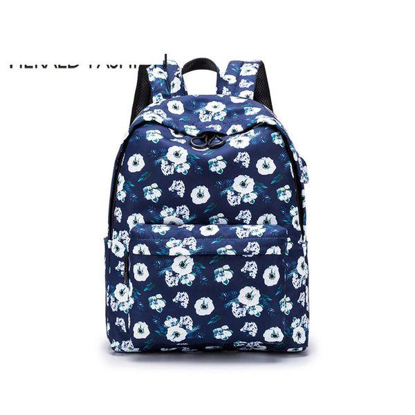 good quality Waterproof Printing Backpack Women School Students Back Pack Female 14-15.6 Inch Laptop Cute Book Bag For Girls
