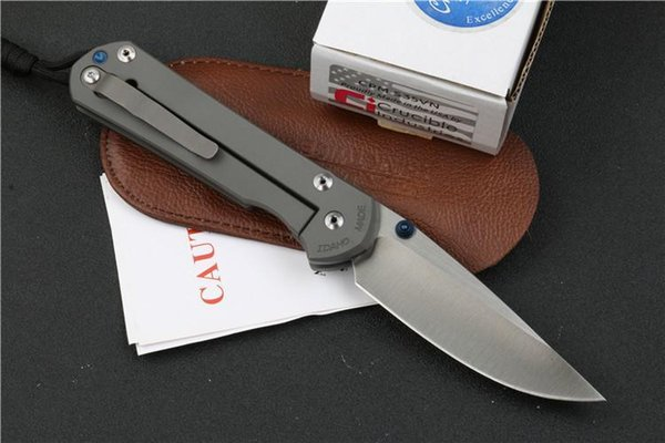 Sebenza 21 карманный нож Крис Рив складной нож D2 лезвие сатин отделка TC4 титана ручка выживания снаряжение кемпинг открытый инструмент охотничий нож