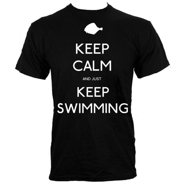 T-shirt Keep Calm and Just Keep Swimming Cool xxxtentacion marcus and martinus tshirt discout hot new top free shipping t-shirt