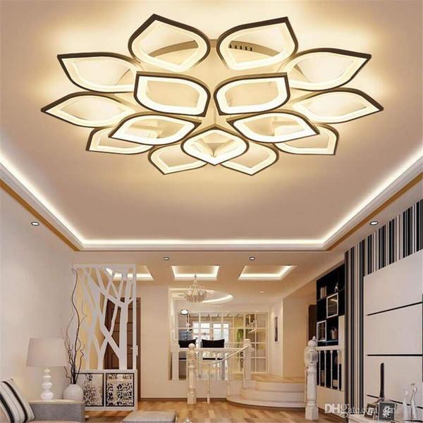 Современный минималистский светодиодный потолочный светильник для гостиной творческая личность дома теплая романтическая спальня люстра