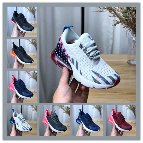 New Boy girl youth children Casual Shoes For kids baby boys girls cushion black white orange green pink shoes Eur28-35