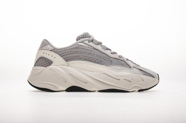Высокое качество так же, как оригинал и DHL быстрая доставка унисекс 700 V2 статический EF2829 кроссовки84 модные кроссовки размер 36-46