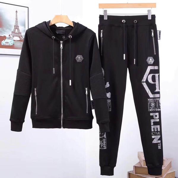 top popular 2019 new Medusa suit casual zipper jacket sweatshirt men's hooded jacket Medusa printing men's long-sleeved sweater 2019