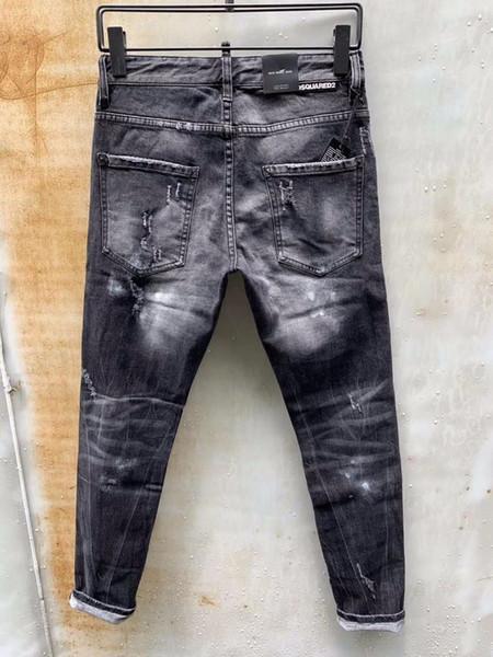 Nouvelle D2019 exclusive stretch mode italienne point de rapiéçage Slim haut de gamme beau mâle 23 896