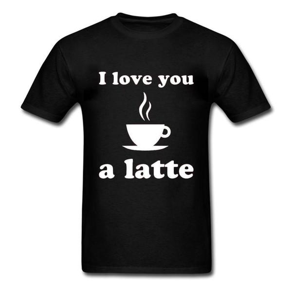 Sana bir latte seviyorum - Başar Pun Coffee - Erkek Gömlek - Çeşitli Ebatlar + Renkler