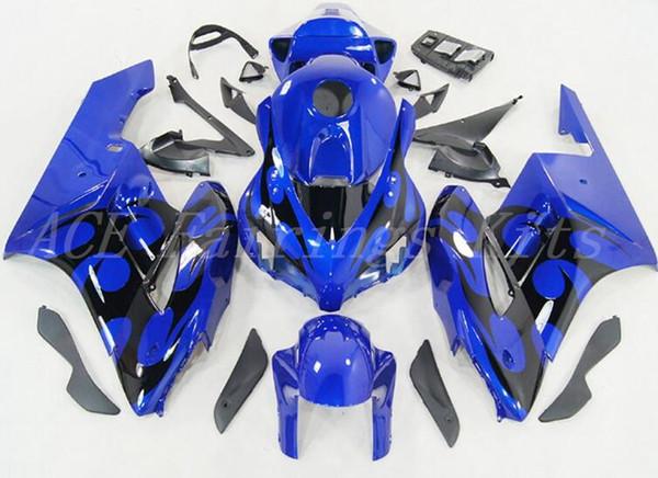 3 Gifts New ABS motorcycle Full Fairings Kits+Tank cover Fit For HONDA CBR1000RR 04 05 2004 2005 CBR1000RR bodywork set Fairing blue black