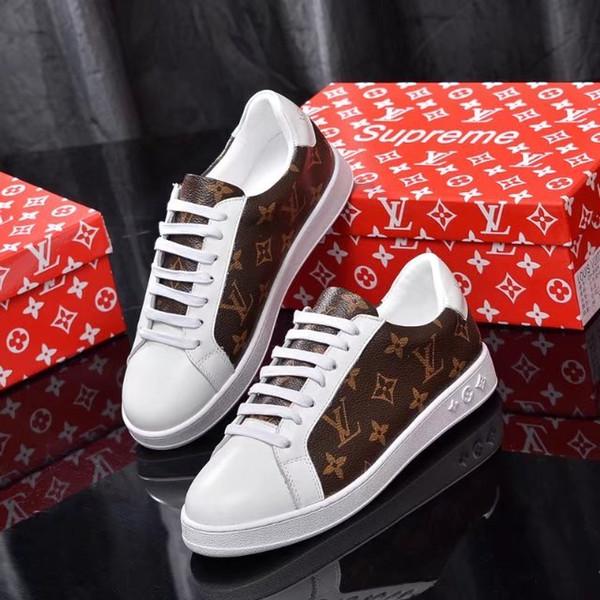 le lastest en cuir véritable 619ss LOIN Designerss Sneakers RUN Mode Chaussures Casual Femmes Chaussures Baskets femmes mixtes Couleur 2716