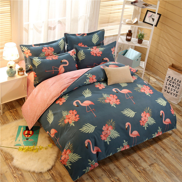 MENGZIQIAN Fashion Bedding Sets Luxury Bed Comforters Sets Polyester Cotton King Size Bedding Sets Simple Style Bed Comporters Set